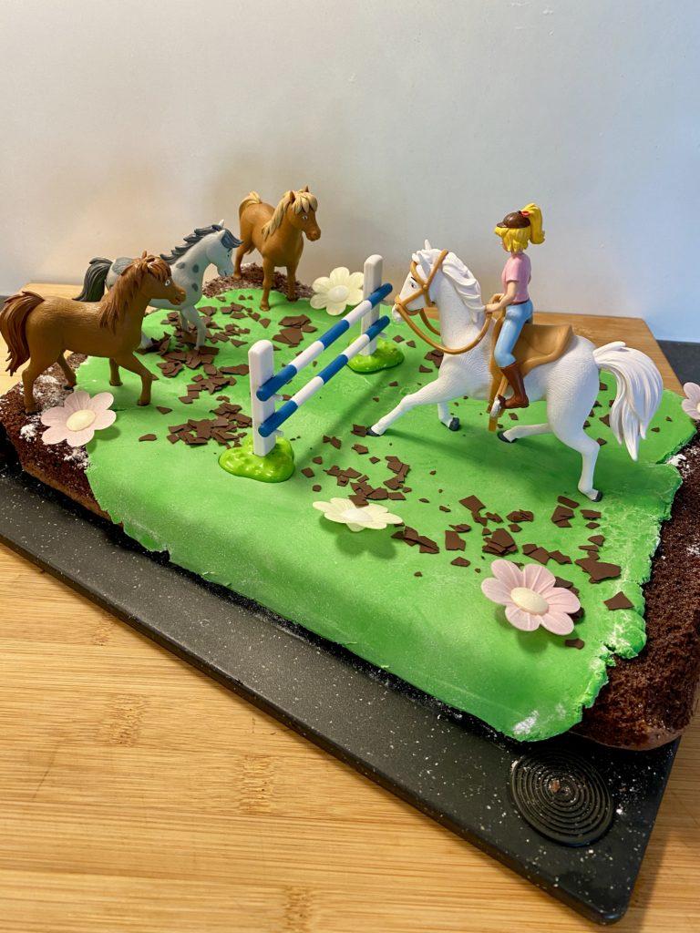 Bibi Blocksberg Brownie Kuchen