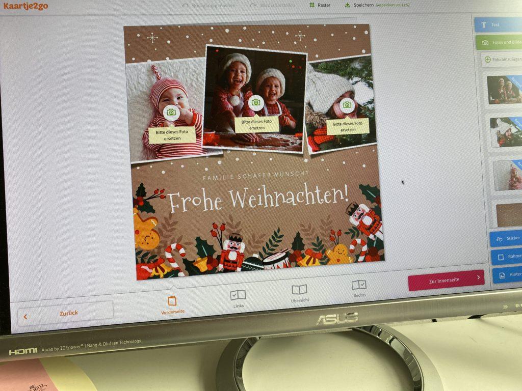 Weihnachtskarten von Kaartje2go