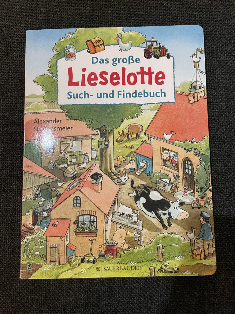 Das große Lieselotte Such- und Findebuch von Alexander Steffensmeier.