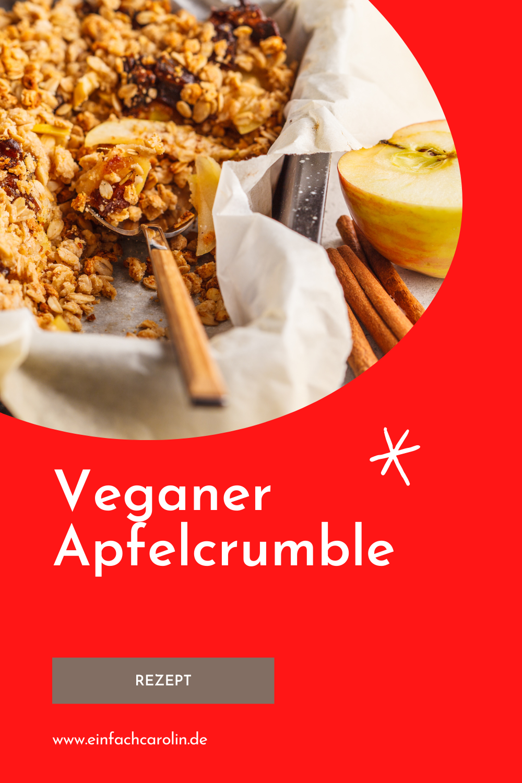 veganer Apfelcrumble Rezept