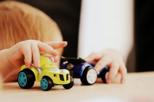Kindergarten Spielzeugautos